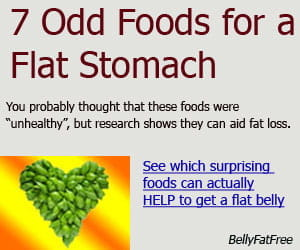 foods for a flat stomach