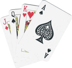 card game four of a kind partner