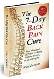 free back pain relief book