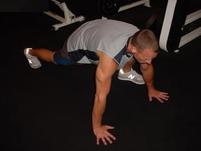 mountain climbers ab exercise start