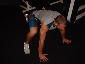 mountain climbers - great ab exercise