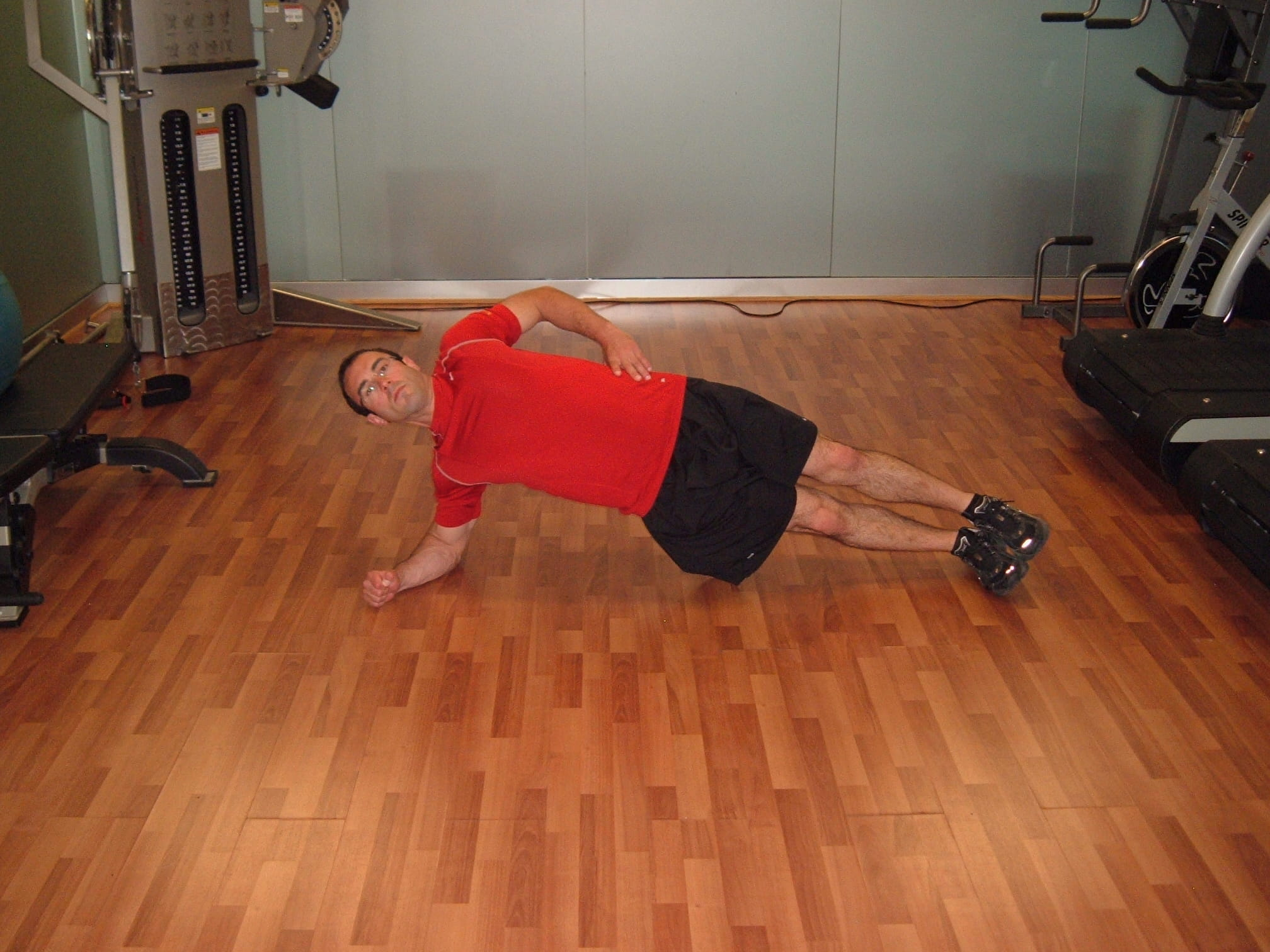 side planks oblique exercise