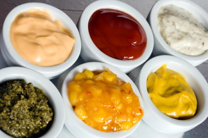 healthy or unhealthy condiments
