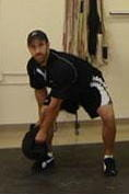 endpoint - sandbag shoulder lunge